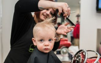 Baby's & Child's First Cut at Beaners fun cuts
